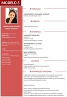 Modelo 8 - Gerador de Currículo Online Com Foto Grátis